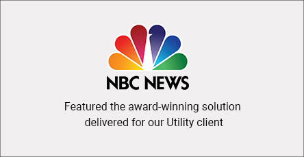 NBC News - award winning solution for utility
