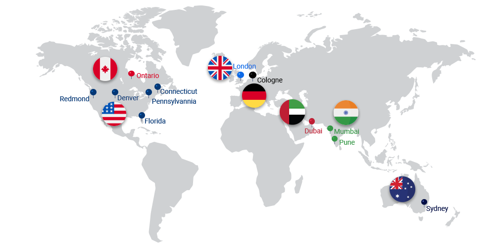Global offices of Saviant