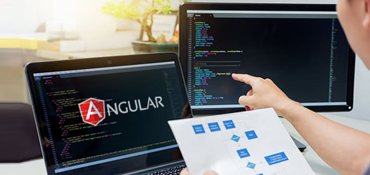 Angular based Single-page application development