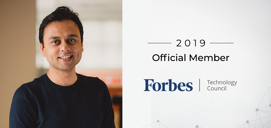 Anubhav member of forbes tech council