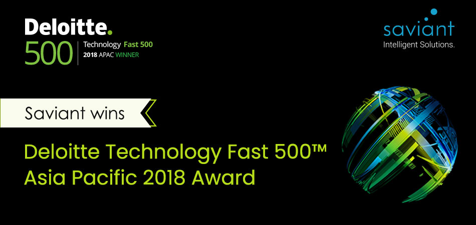 Saviant wins the Deloitte Technology Fast 500™ APAC