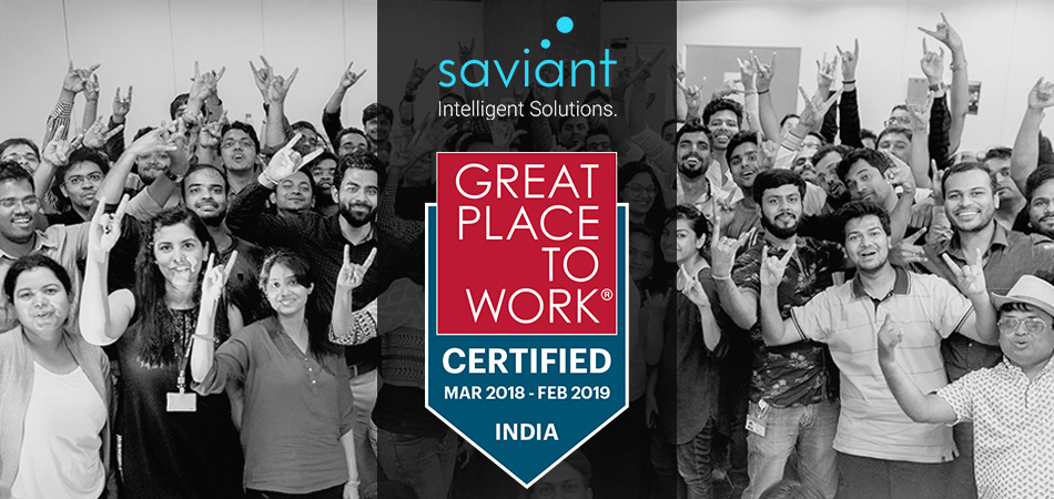 Saviant now certified great place to work