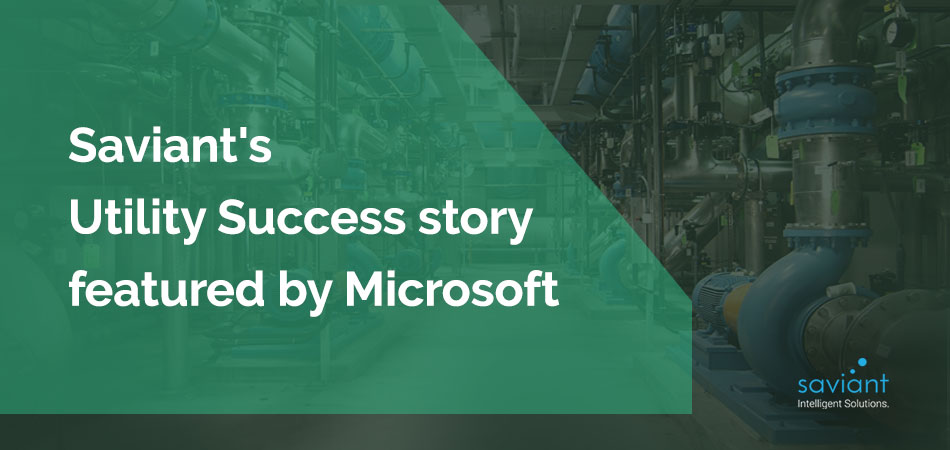 Microsoft recognizes Saviant's customer success story