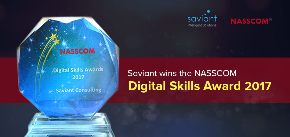 Saviant wins NASSCOM Digital Skills Award 2017