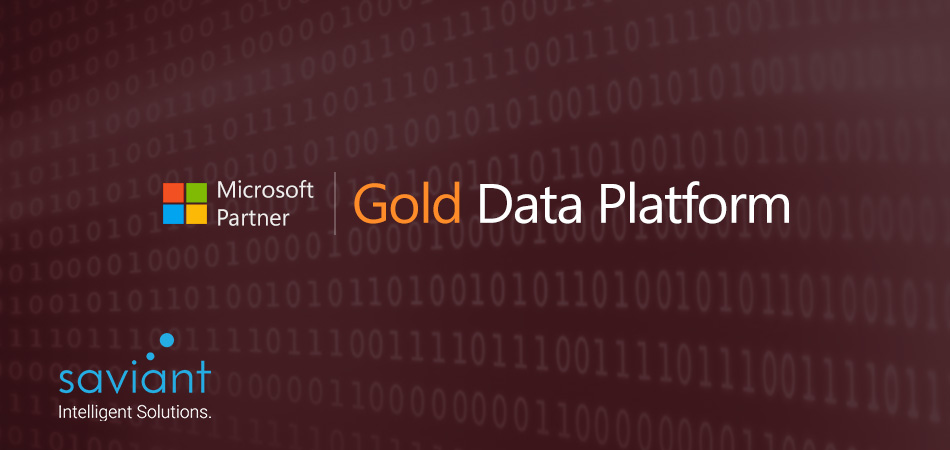 Saviant is now a Microsoft Gold Partner for Data Platform
