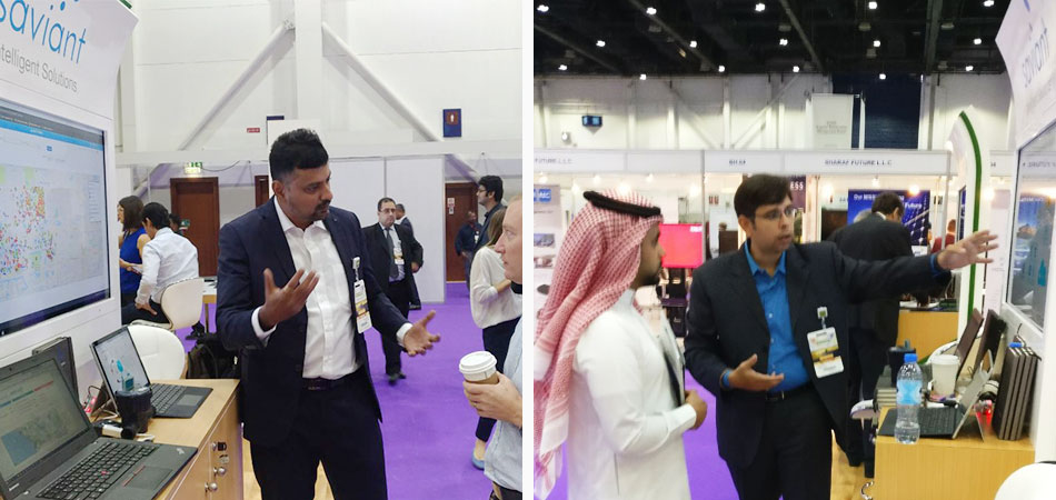 Saviant showcased company's intelligent solution on Azure cloud @WETEX2017