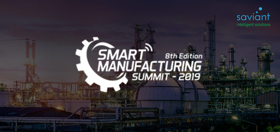Saviant at Smart Manufacturing Summit 2019