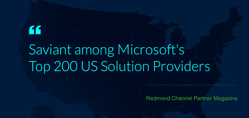 Saviant - Top Microsoft solution provider in USA