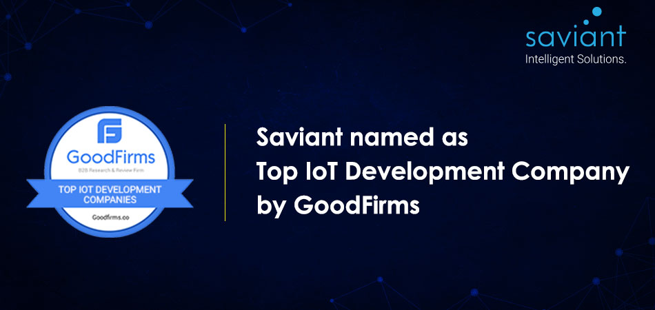 saviant named as Top IoT development company